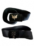 Military Style Webbing Belt and buckle ENGRAVED Option
